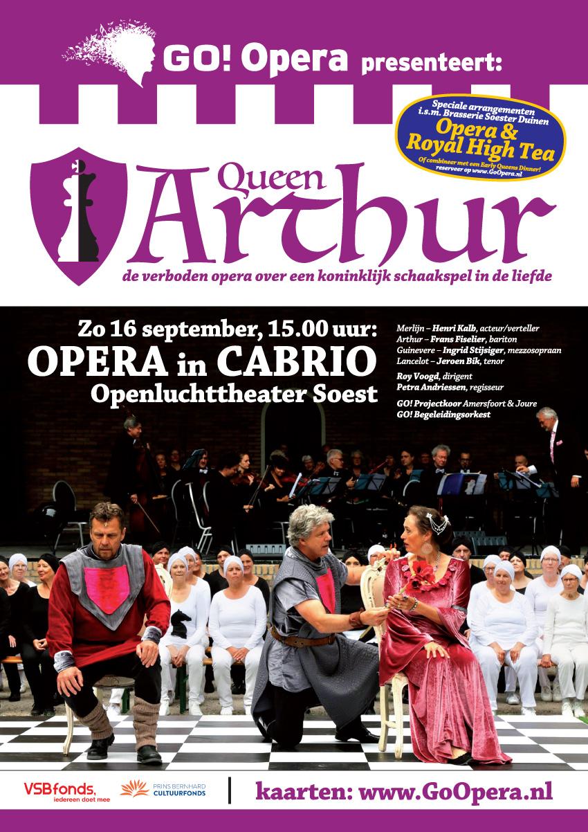 Queen Arthur 2018 POSTER A3 Soest